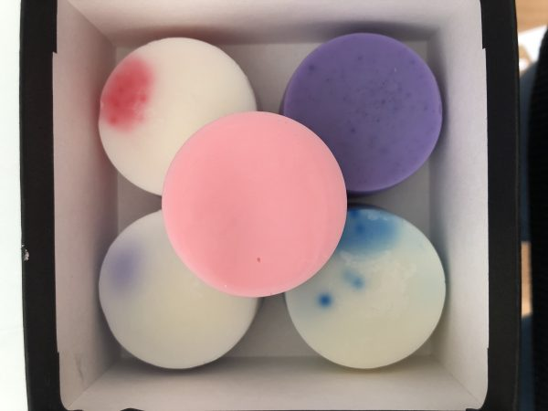 A selection of colourful wax melts